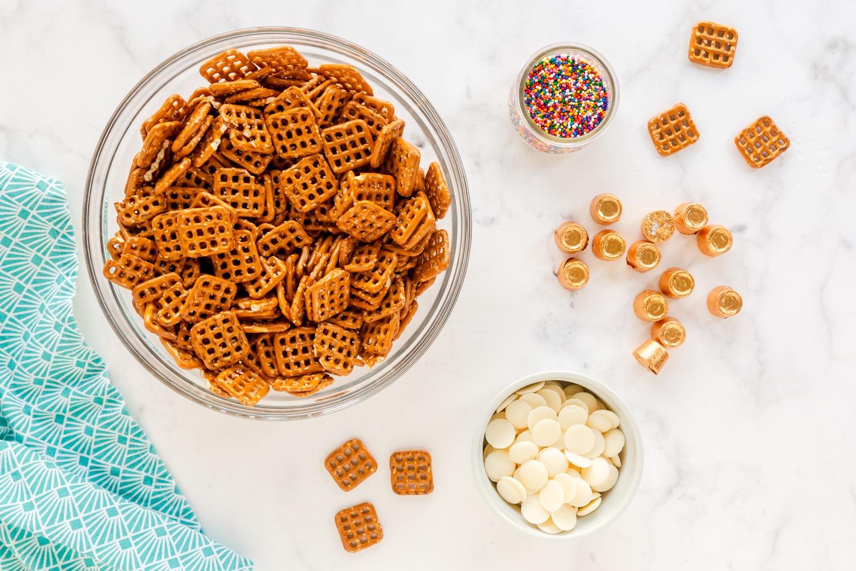 ingredients for pretzel bites