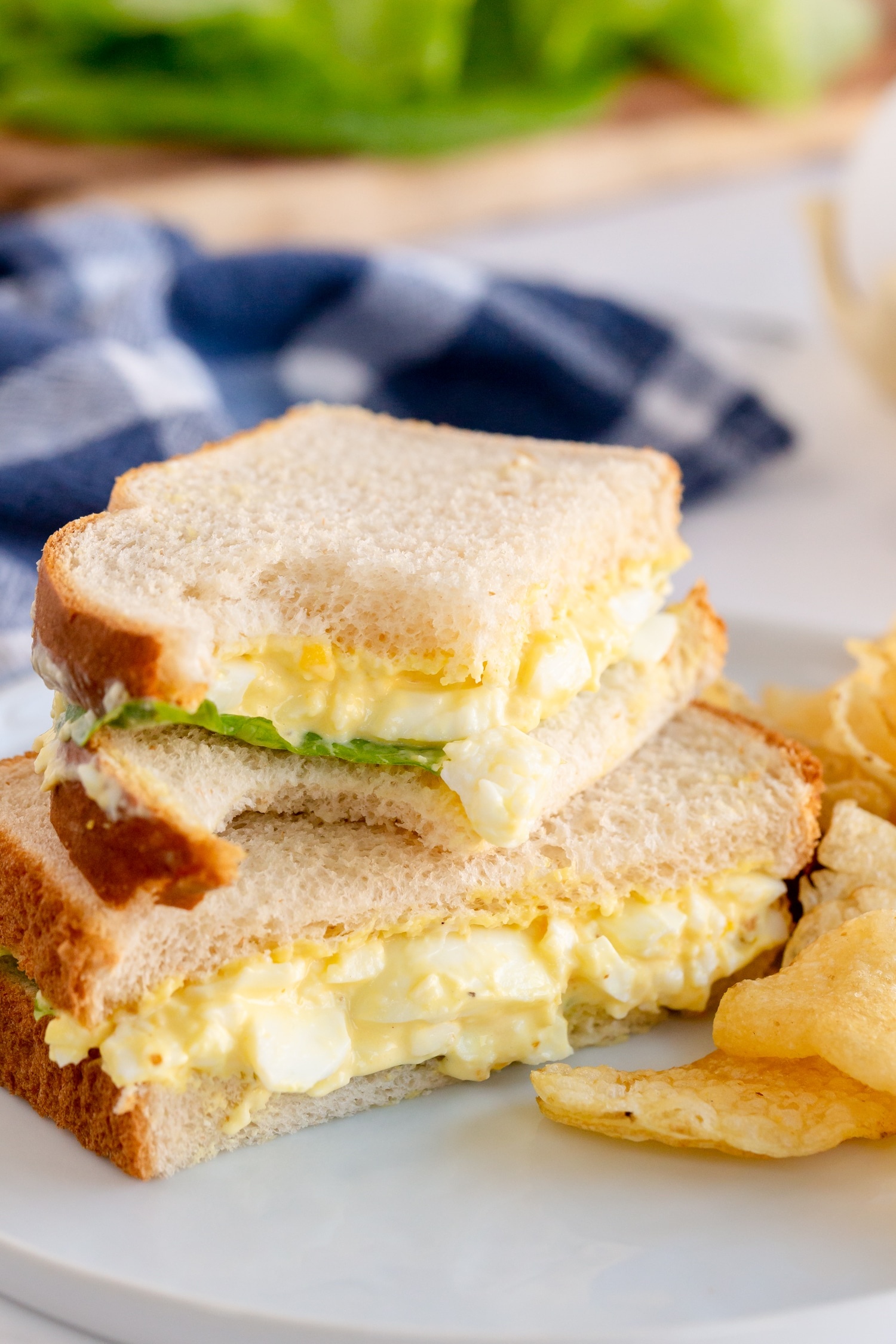 This Egg Salad Sandwich Recipe is an easy, delicious and easy to customize sandwich the family will enjoy!