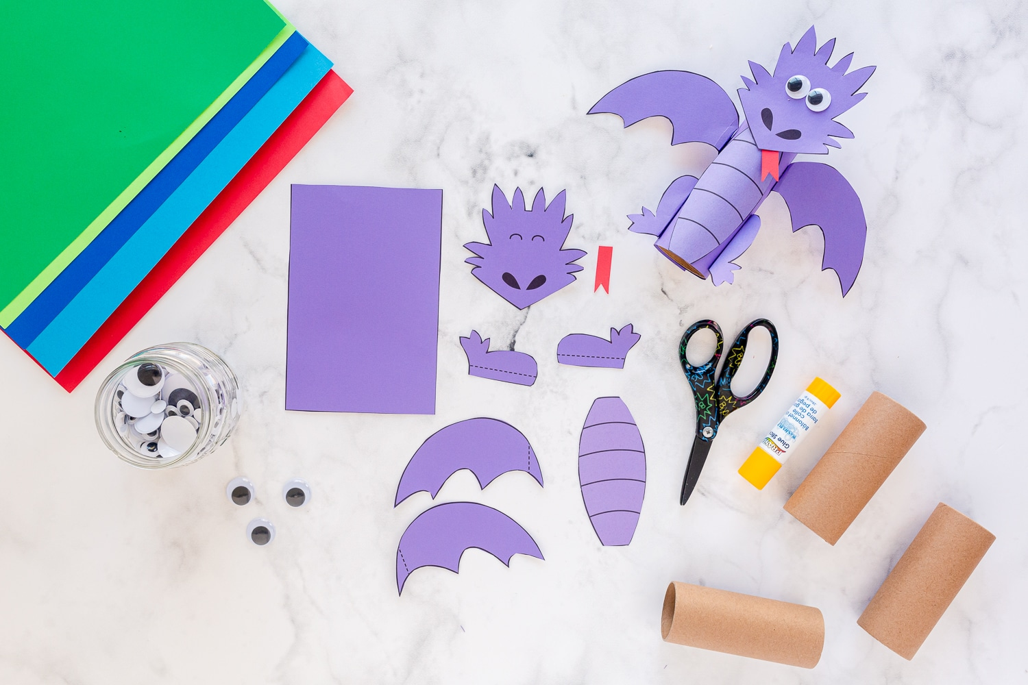 printable template pieces cut out