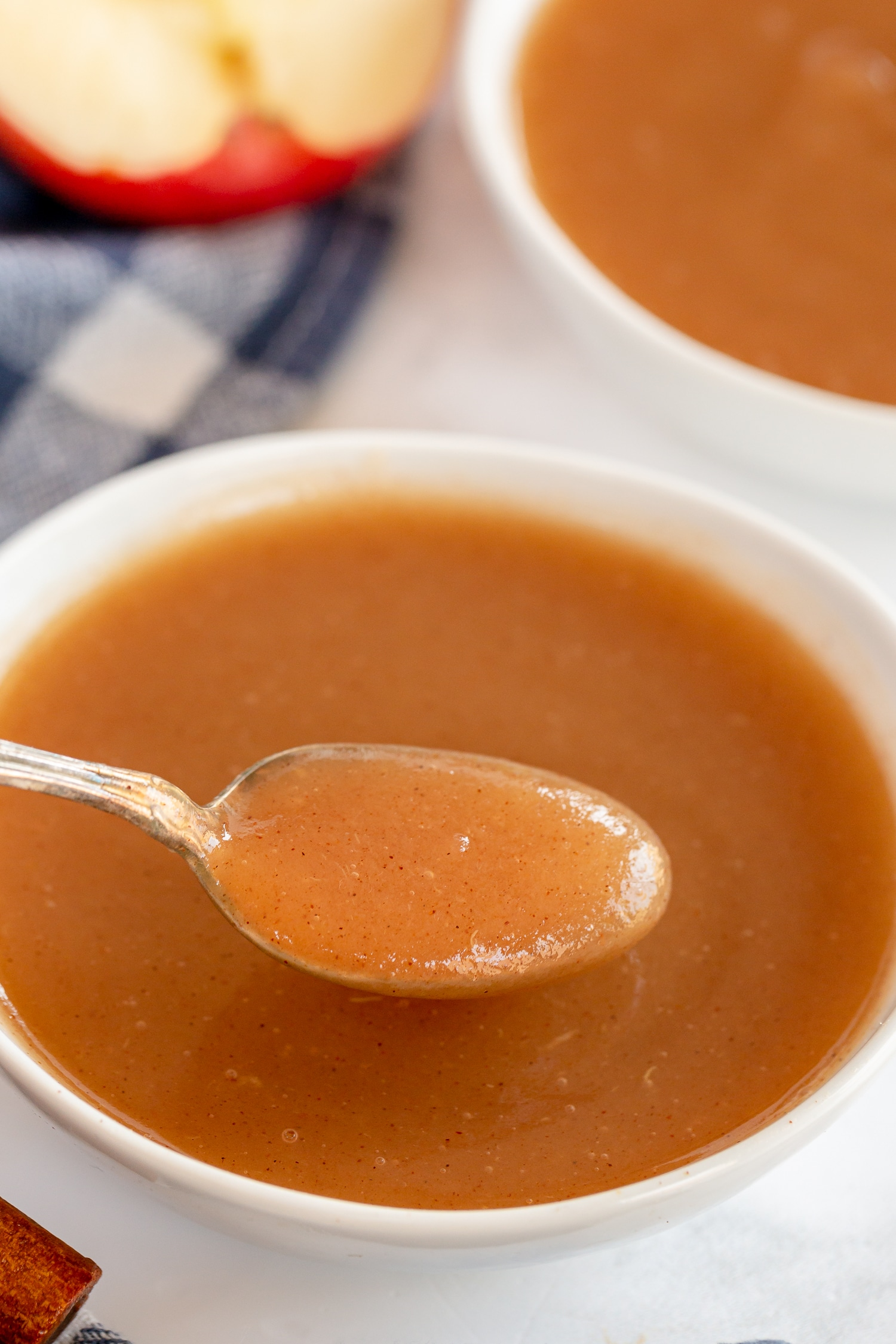 spoonful of brown sugar applesauce